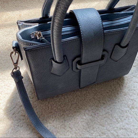Structured Tote Crossbody Bag
